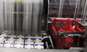 Plastic Crate Loading and Unloading with robotics