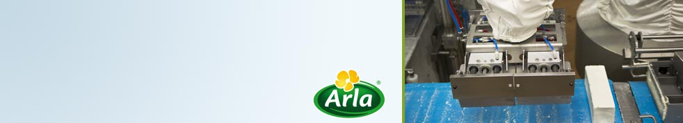 Arla Rødkærsbro automates mozzarella production